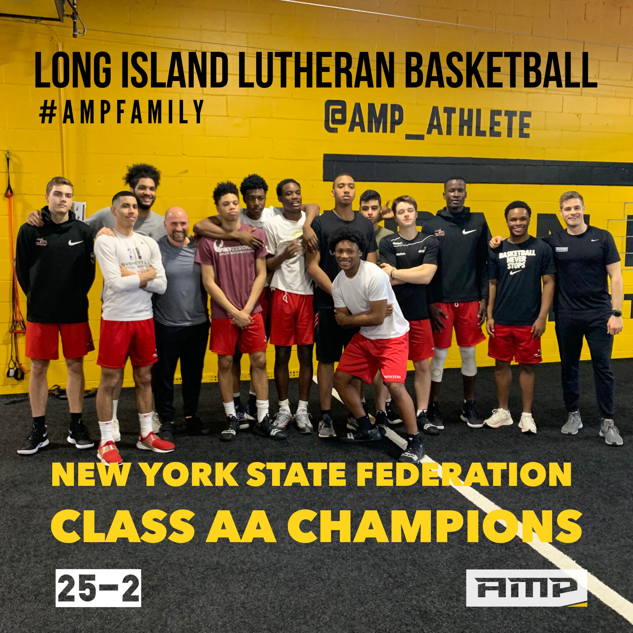 The LuHi crew after their last training session before heading up to Glens Falls, NY to compete in the NY State Federation Class AA Championship Tournament.