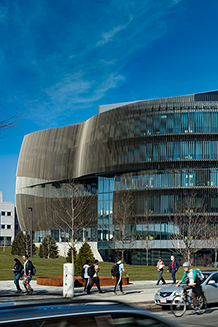 Behold! The new Interdisciplinary Science and Engineering Complex at Northeastern University.   image credit: ARUP web site, Warren Jagger