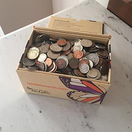 Monarch kit piggy bank