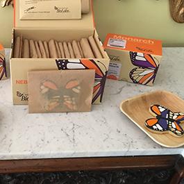 Monarch kit cookie jar