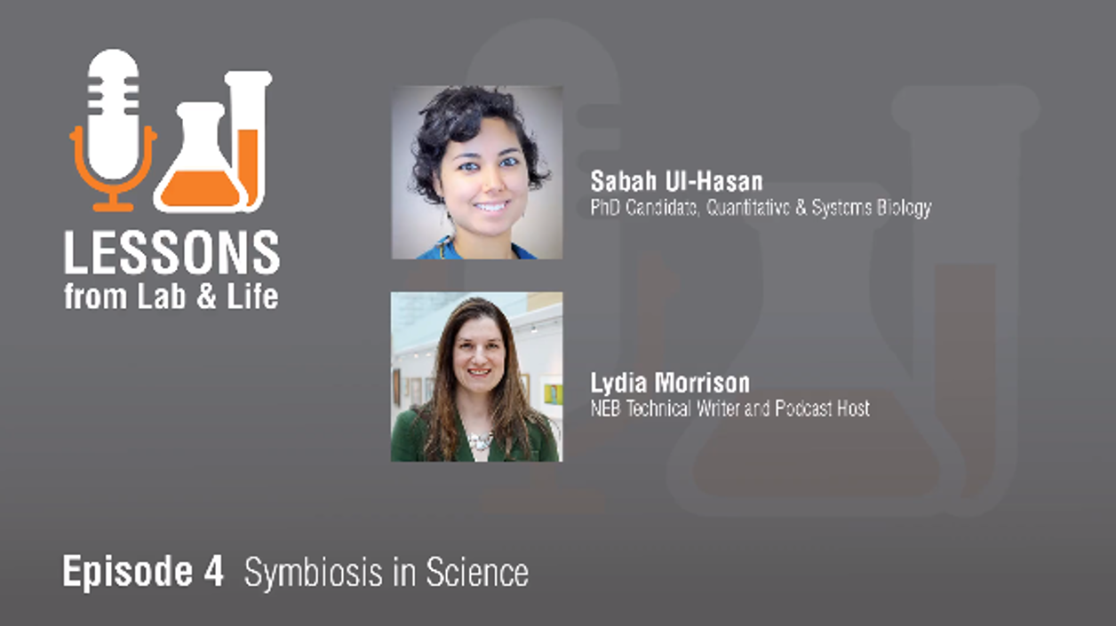 Interview with Sabah Ul-Hasan: What does symbiosis in science mean?