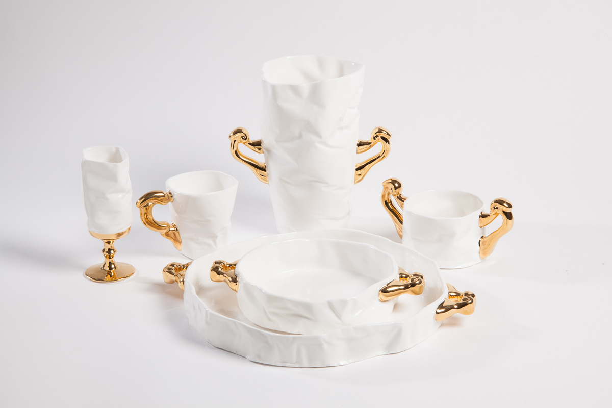 Royal Series: Bone China and 22ct Gold