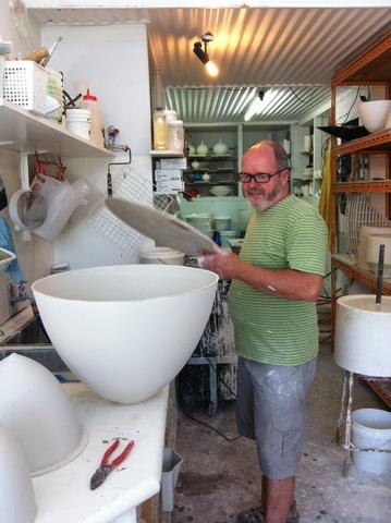 Preparing for kiln firing