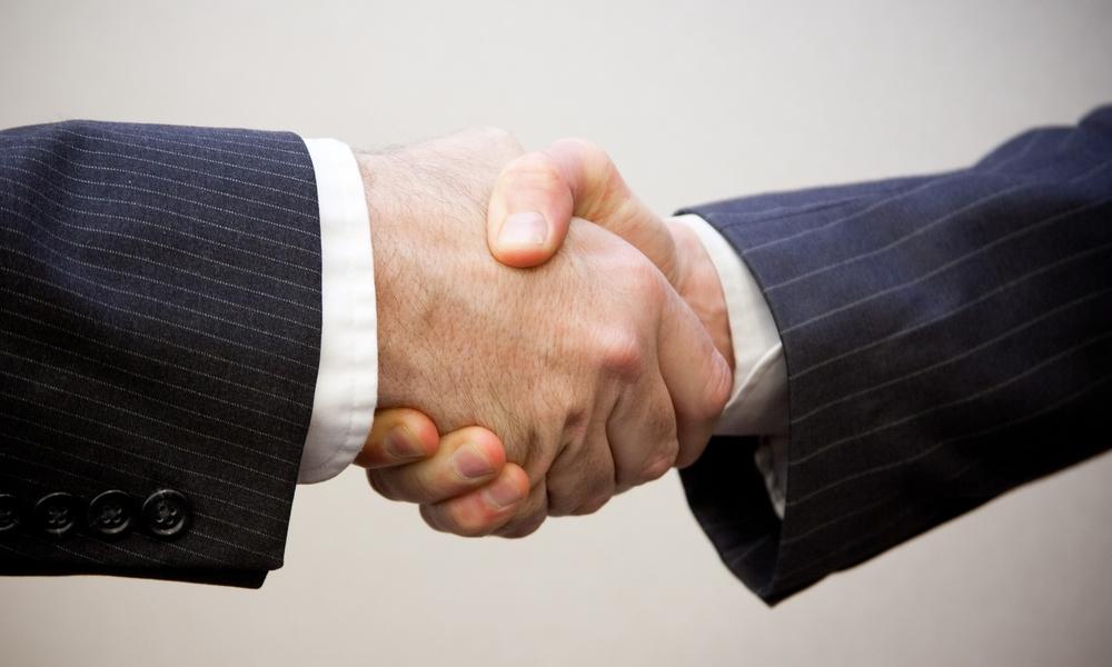 Handshake - 2 men by  Flazingo Photos