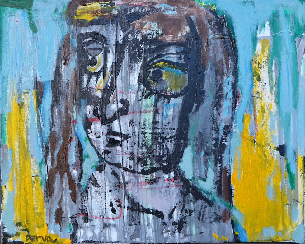 "Pernalisa 16"" x 20"" Acrylic on Canvas"