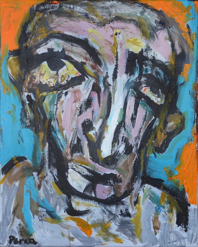 "Ze From the Street II - 24"" x 18"" Acrylic on Canvas"