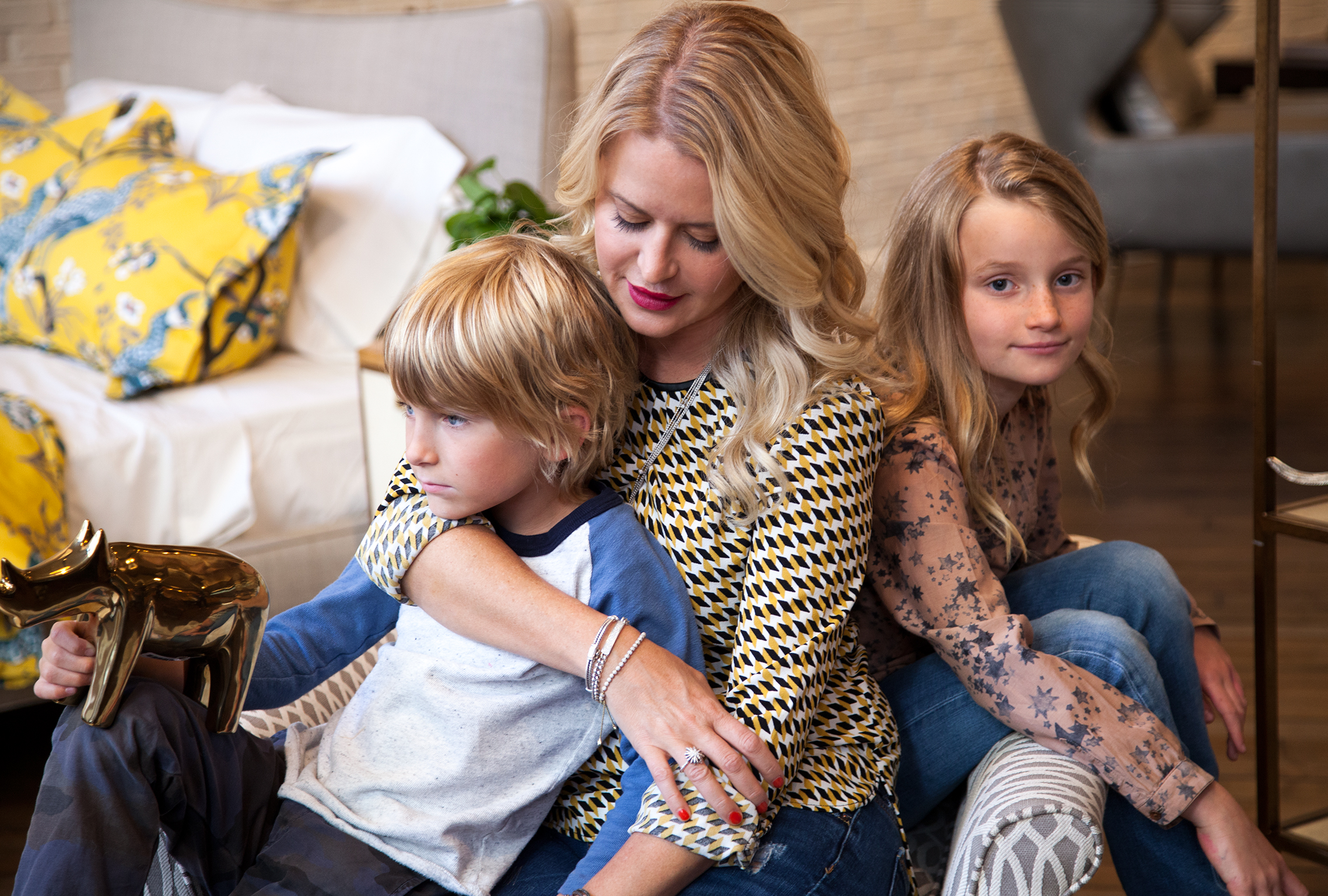 Dressing Your Home With DwellStudio's Christiane Lemieux (For Elizabeth Street, David Yurman)
