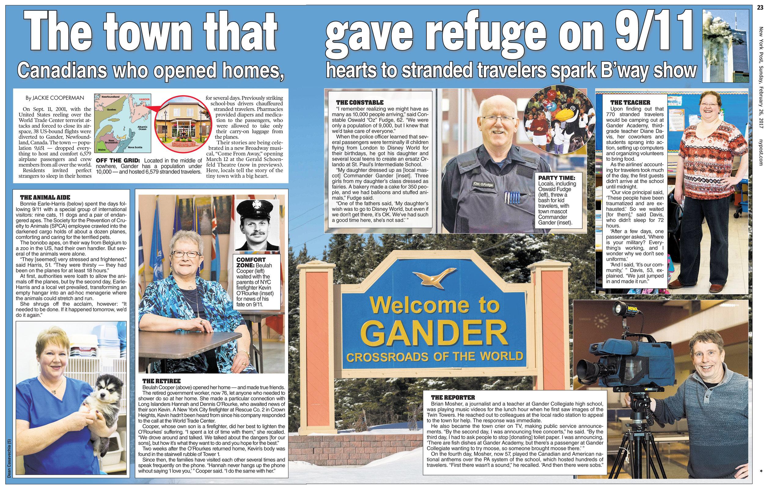 The Town of Gander, Newfoundland
