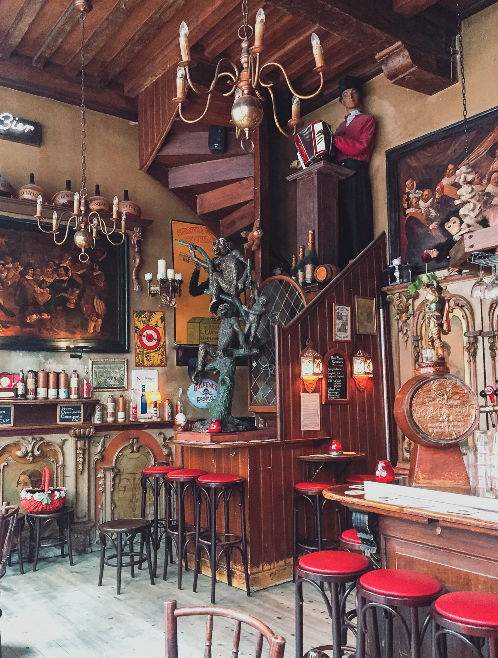 In't Aepjen, or Monkey Bar, Amsterdam, Netherlands