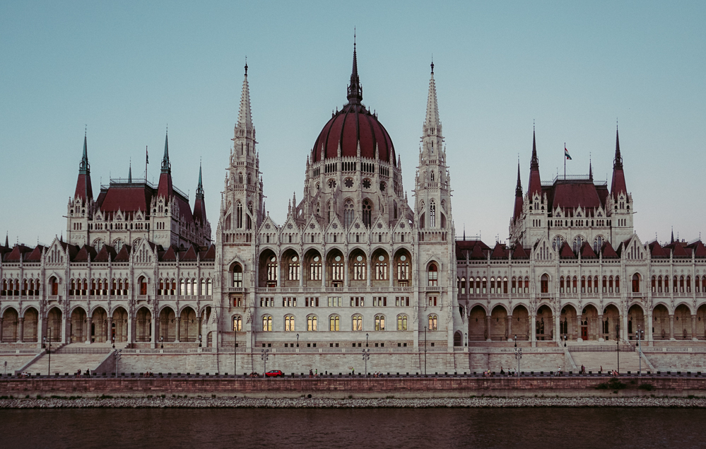 On the Danube River, Budapest, Hungary