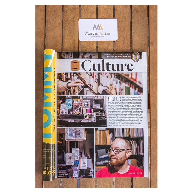 I was recently sent on assignment to the Denver Zine Library (@denverzinelibrary), a space dedicated to the culture and art of Zine making. . The article is now out in the April issue of 5280 (@5280magazine). Check it out in stores, and see more photos on my website. The link is in my bio.