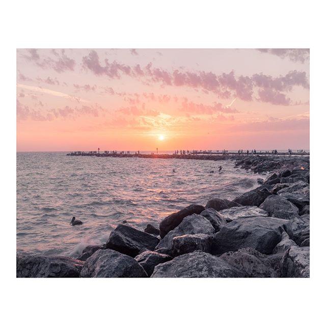 Sunset by the Jetty. Venice, FL. . #WalkWithLocals #VisitFlorida #VeniceFlorida  #FujifilmX_US #MyFujifilm #X100F #Fujifeed