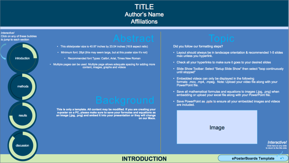 Download ePoster Templates -