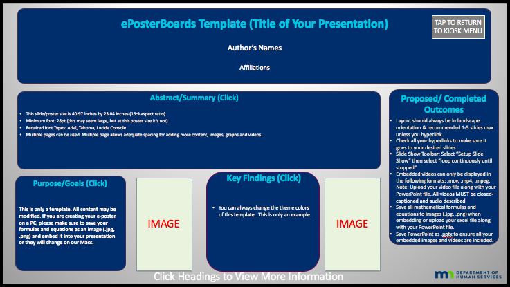 LWAH Template 3- Hyperlink Sections -