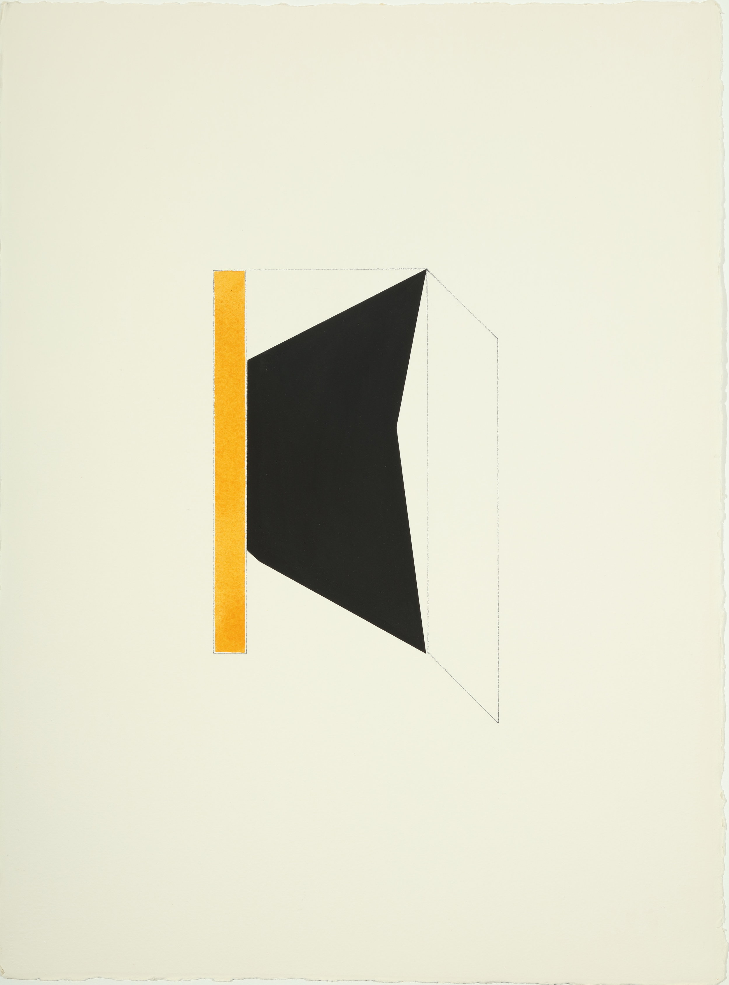 The Fox , 1977-1978 Acrylic and pencil on paper 30.50H x 22.87W