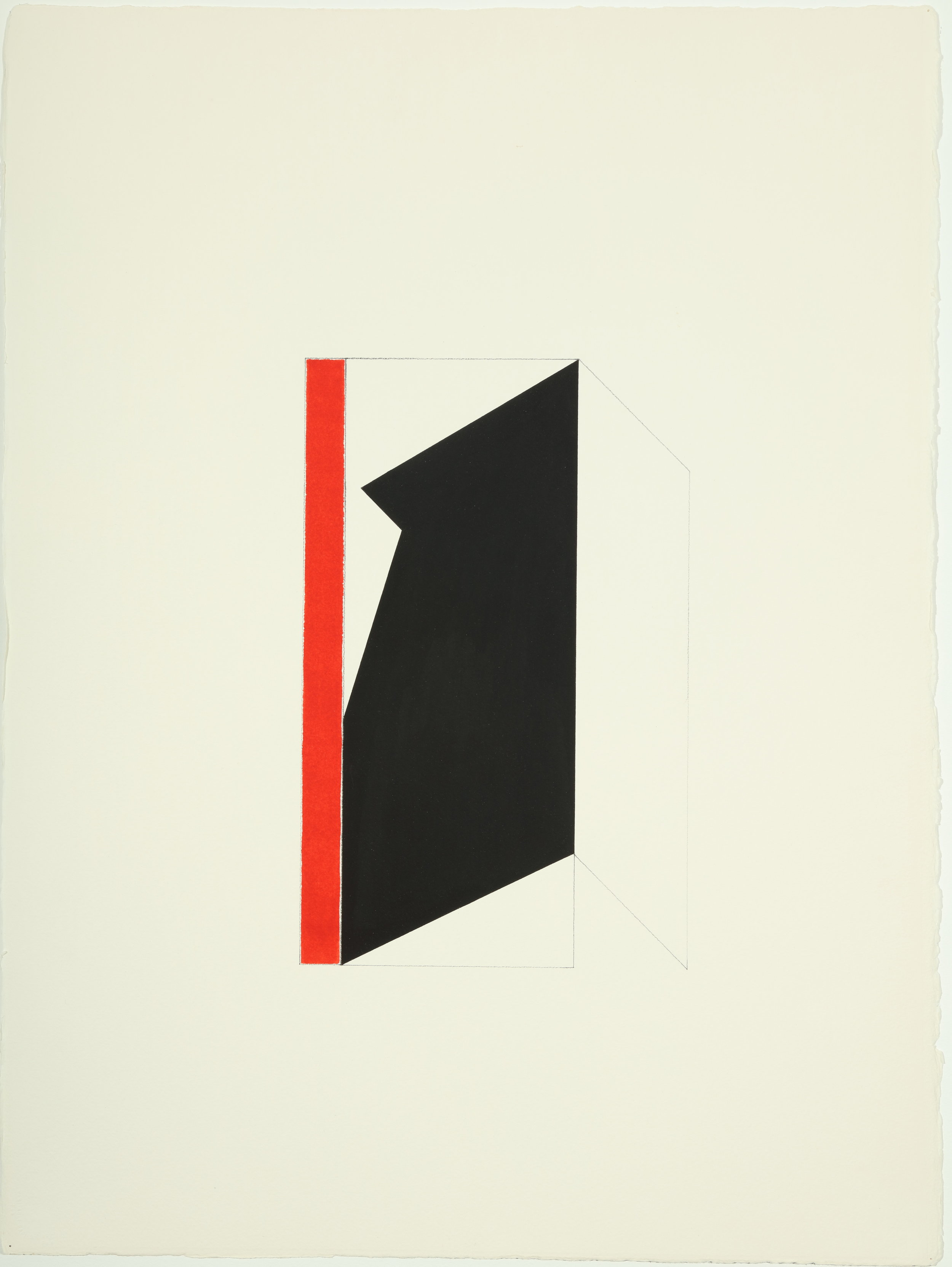 Untitled , 1977-1978 Acrylic and pencil on paper 30.50H x 22.87W Inches
