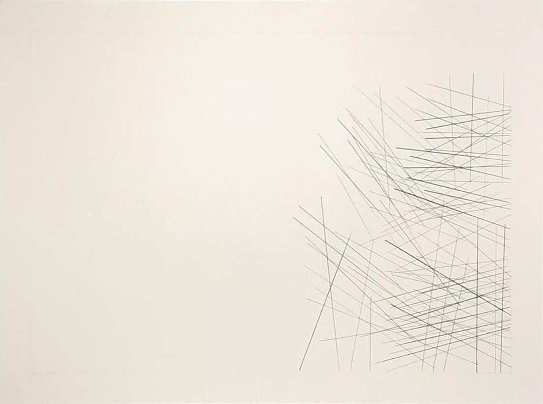 Kasai, Congo -5.8610, 22.3938,  2018  Graphite on paper  18H x 24W inches unframed  21.75H x 27.75W inches framed