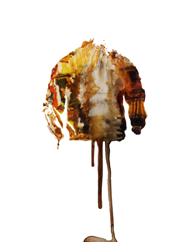 My Jacket Is Melting And Now I have Nothing  , 2018 40 x 30 in.  Archival pigment print mounted to Dibond Edition of 10  Signed by the artist on label, verso