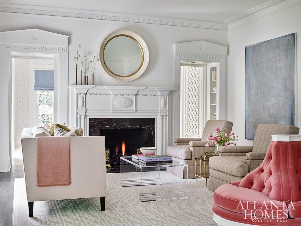 mark Leibert's painting festured in atlanta homes and lifestyles magazinenovember 2018 -