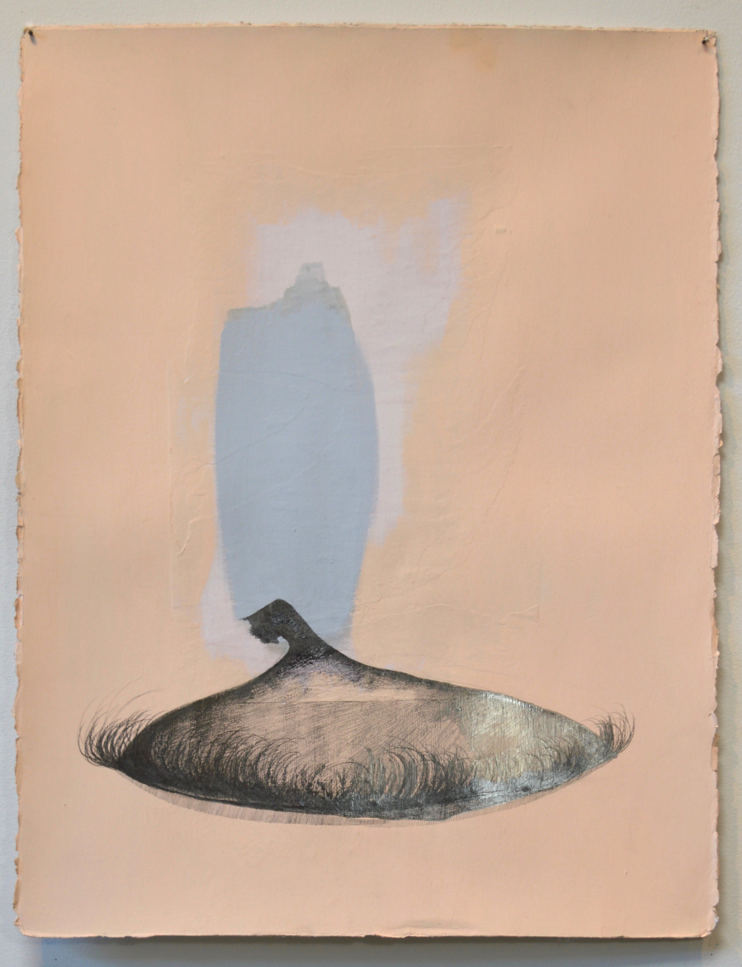 Yanique Norman   Quashie Silences: Blinking at the Sun #1,  2019  Gouache, graphite, and collage on paper  30H x 22W inches