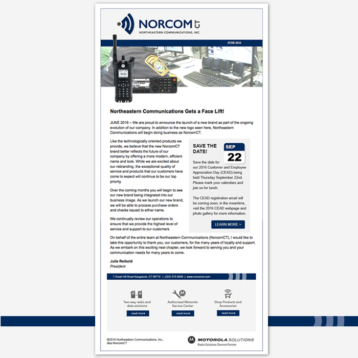 NorcomCT email marketing