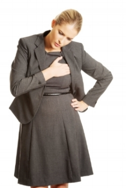 After the age of 55, women have just as many heart attacks as men do