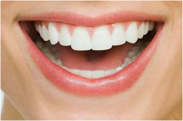 """A healthy smile with healthy teeth can help you have a healthy heart."" Take care of your teeth."