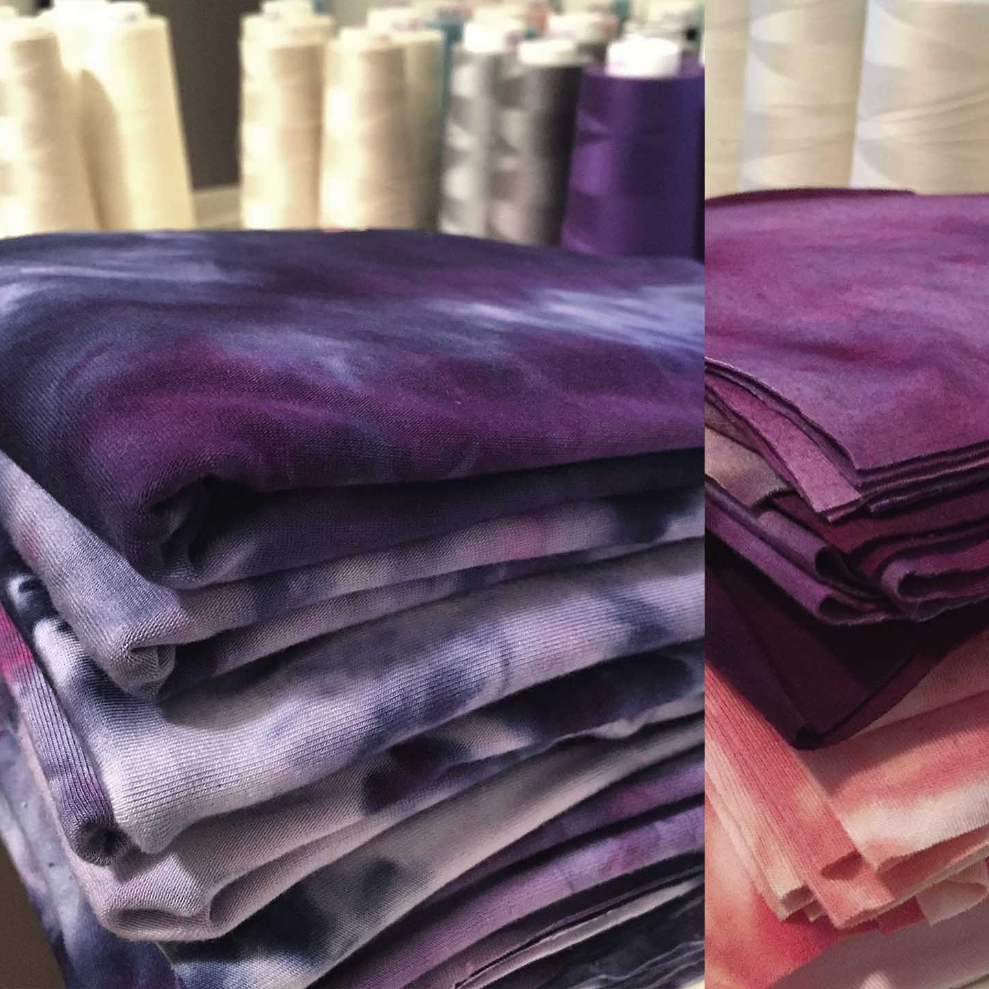 After our bamboo fabrics are preshrunk and hand-dyed, our seamstresses hand-cut and assemble each garment. Our clothing is luxury soft with a gentle drape. We stand behind our classic shapes & clean designs for layering and building a wardrobe.