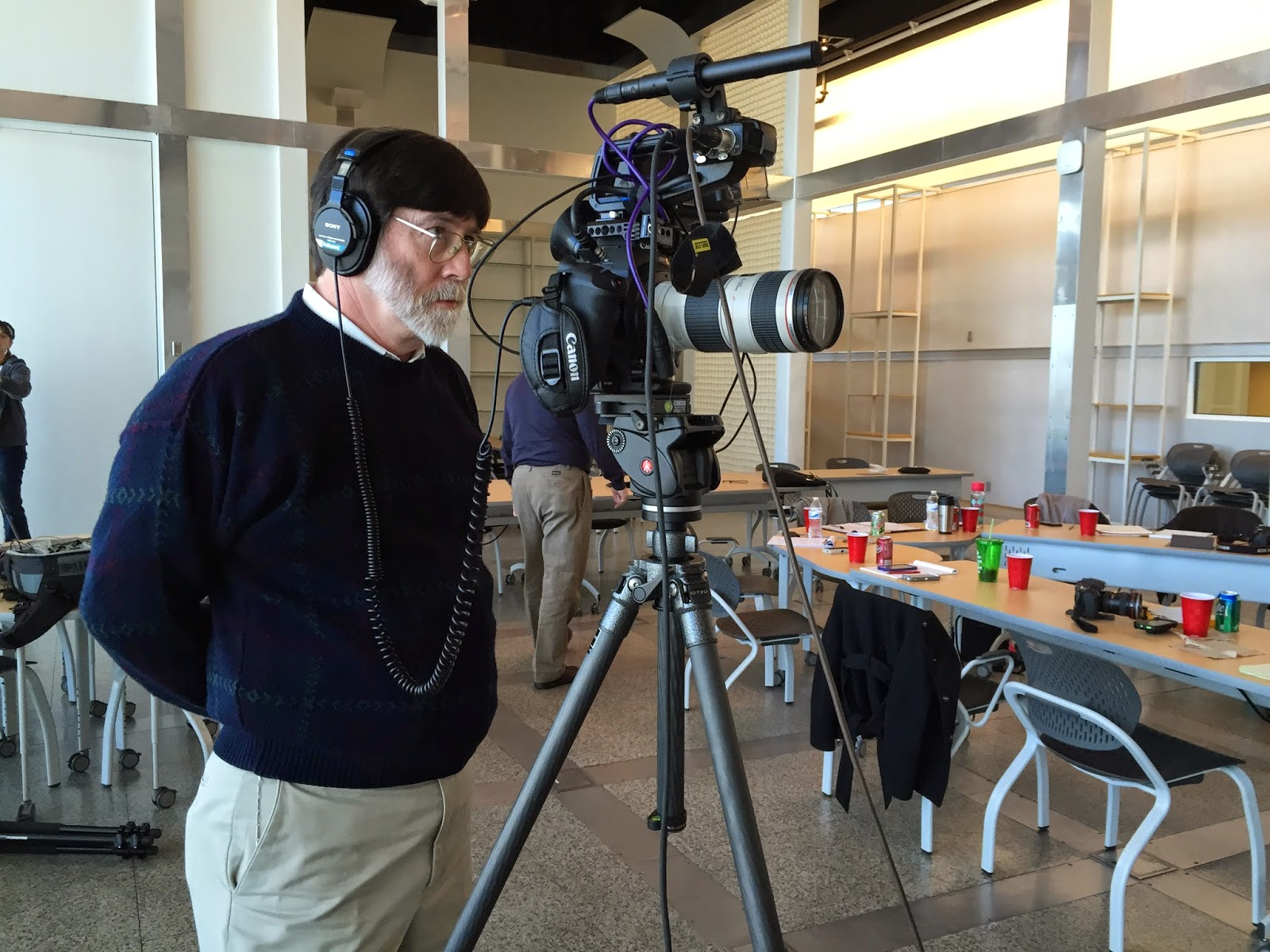 South Carolina ETV receives video production training from Video Dads