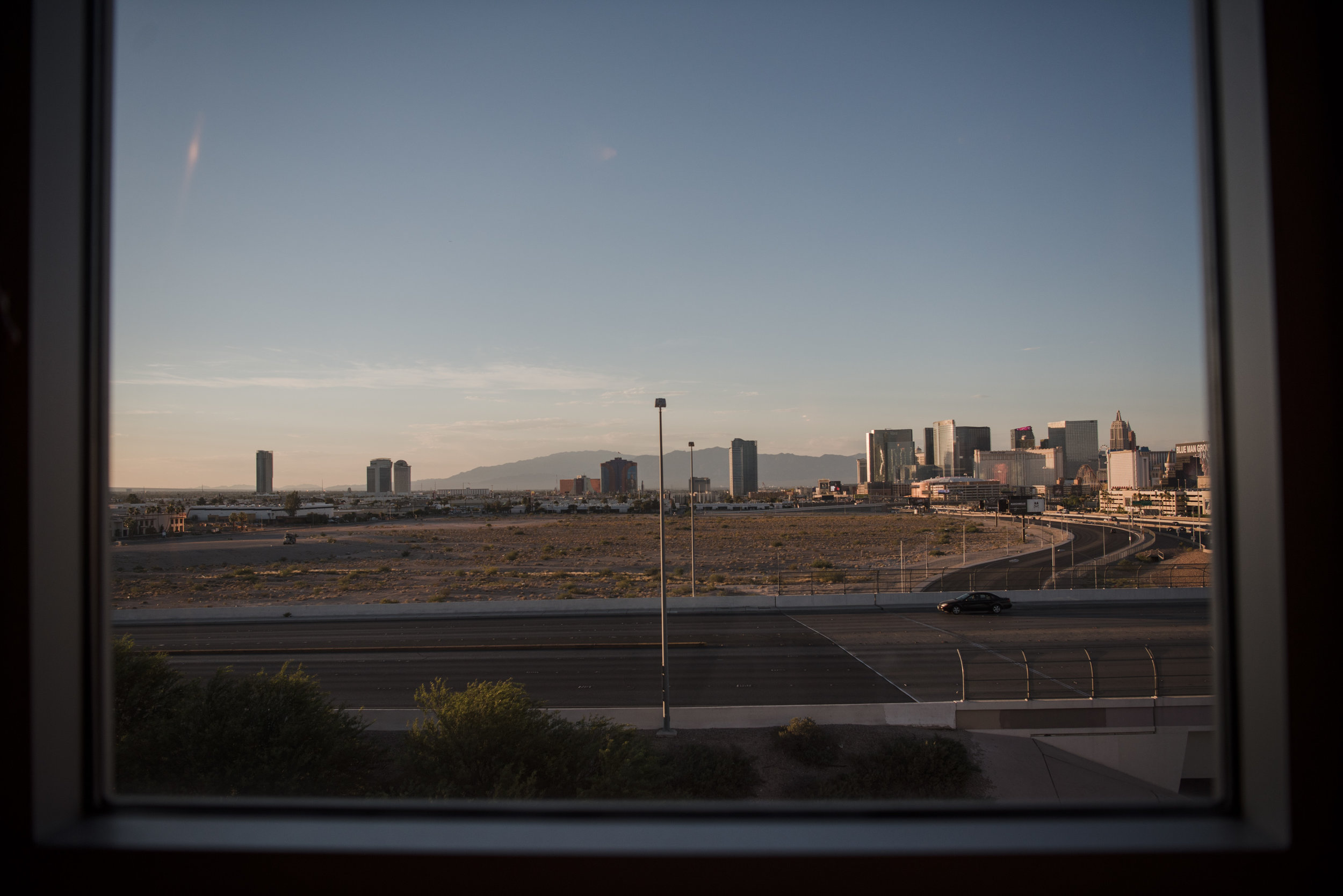 The Raiders football stadium lot, as seen facing the Las Vegas Strip from the Staybridge Suites window on Thursday, June 22, 2017, in Las Vegas. Morgan Lieberman Las Vegas Review-Journal