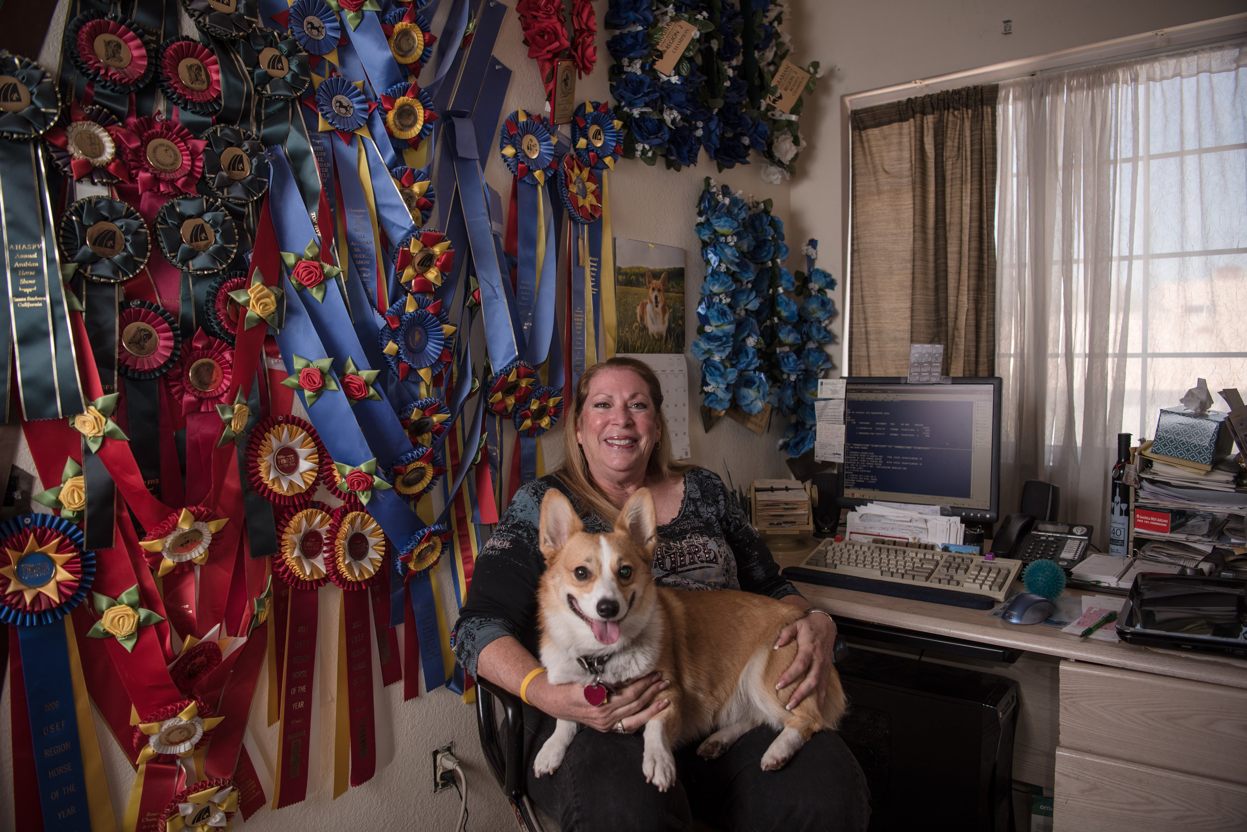 Patty Romeo, a travel agent and show horse judge, in her home on Friday, July 21, 2017, in Las Vegas. Morgan Lieberman Las Vegas Review-Journal