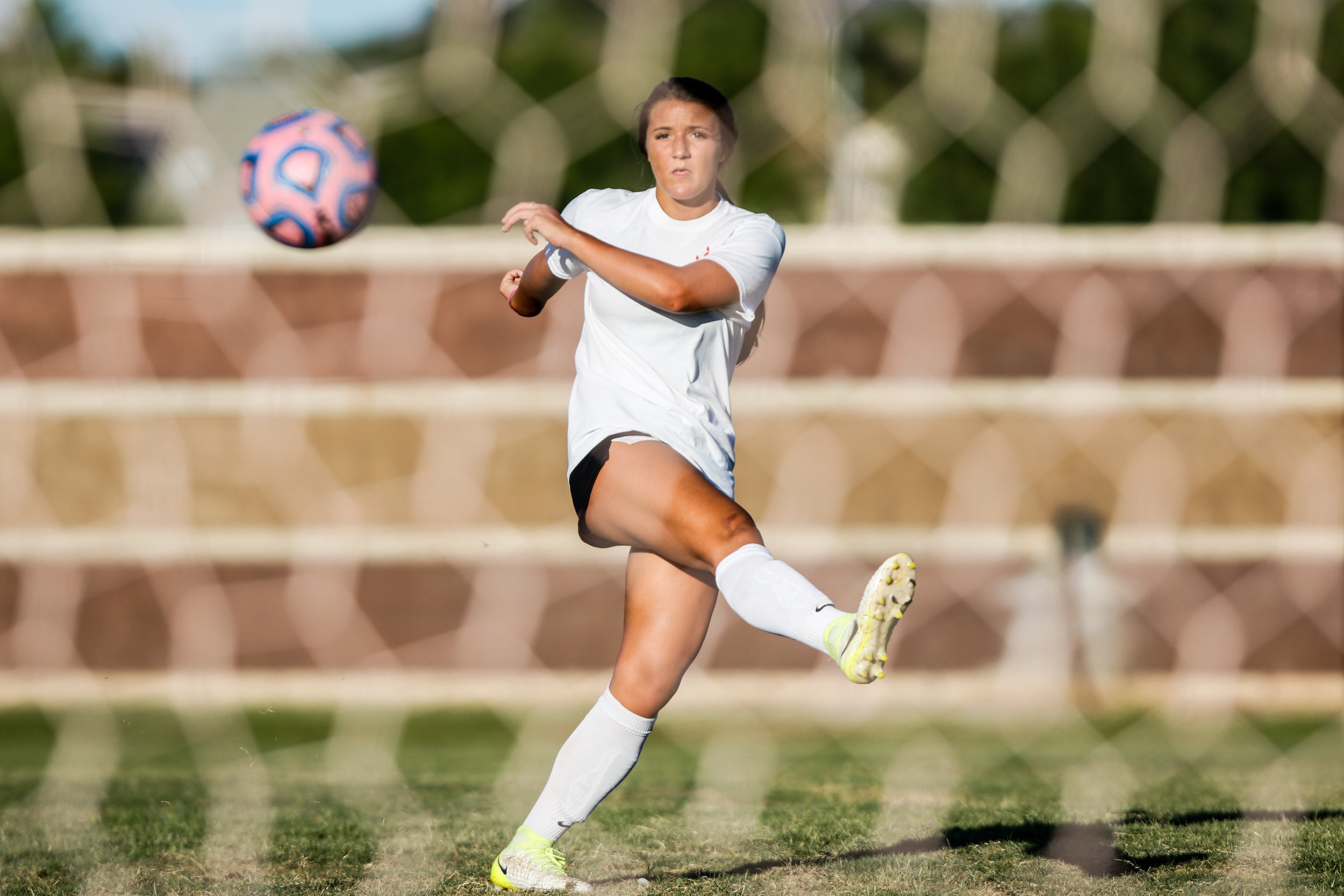 Coronado Varsity Girls Soccer player Jensen Boman at practice at Coronado High School on Friday, Aug. 18, 2017, in Henderson. Morgan Lieberman Las Vegas Review-Journal