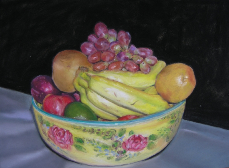 Pastel, Tutti Fruitti, Private Collection