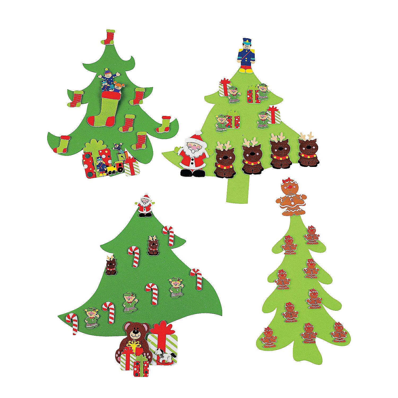 Foam Art Christmas Trees.jpg