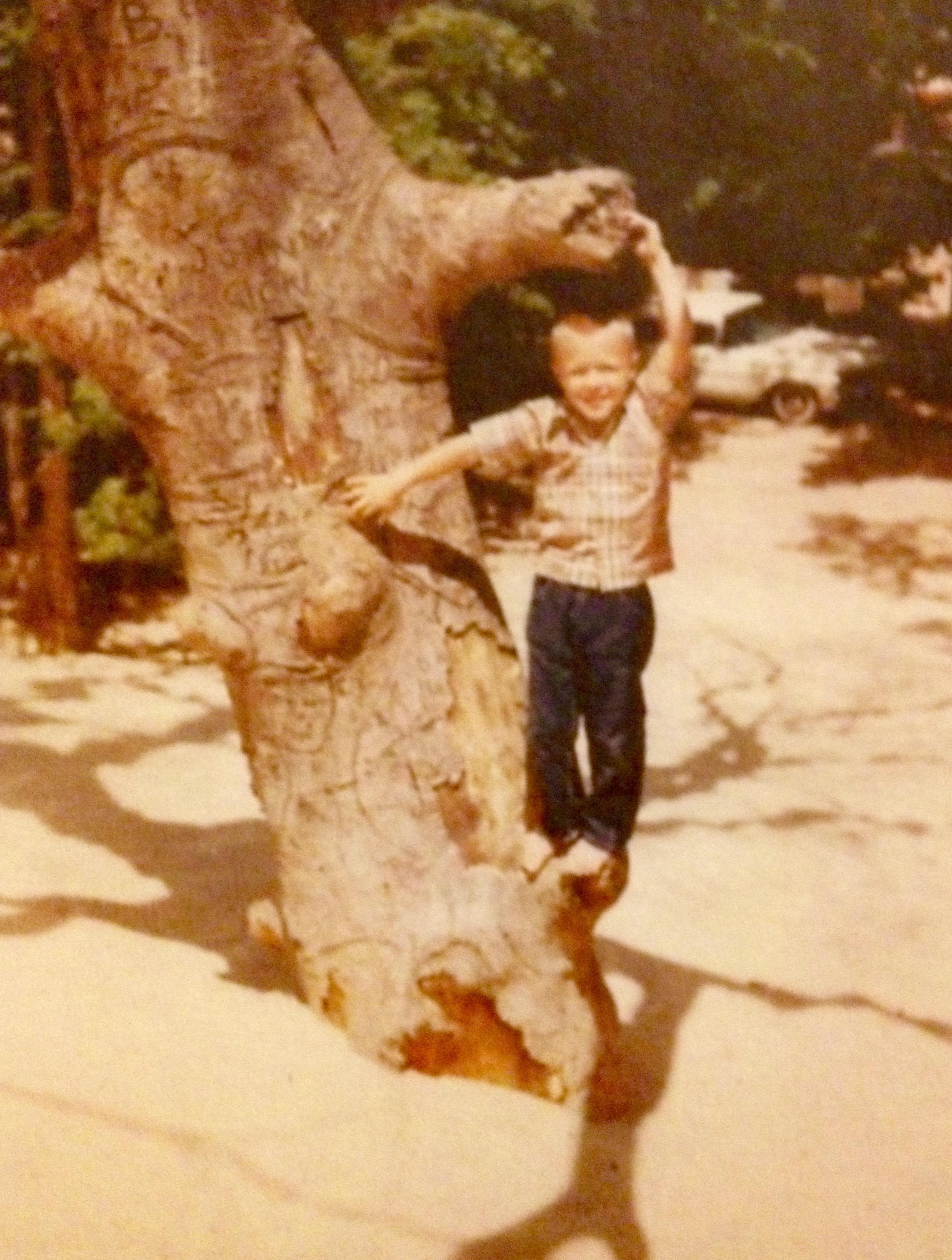 David Grimshaw age 4