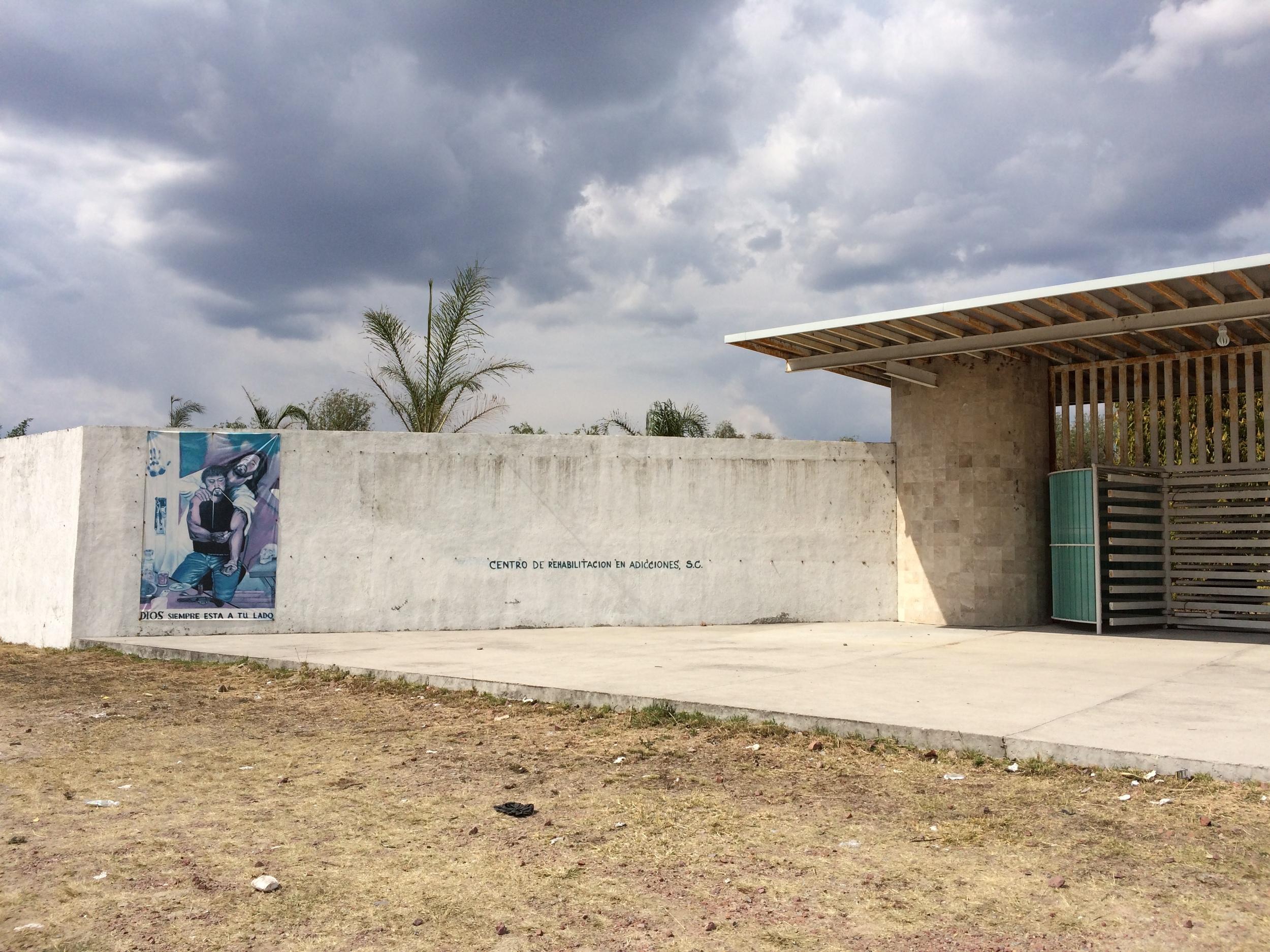 CALVARY banner found near Leon, Mexico