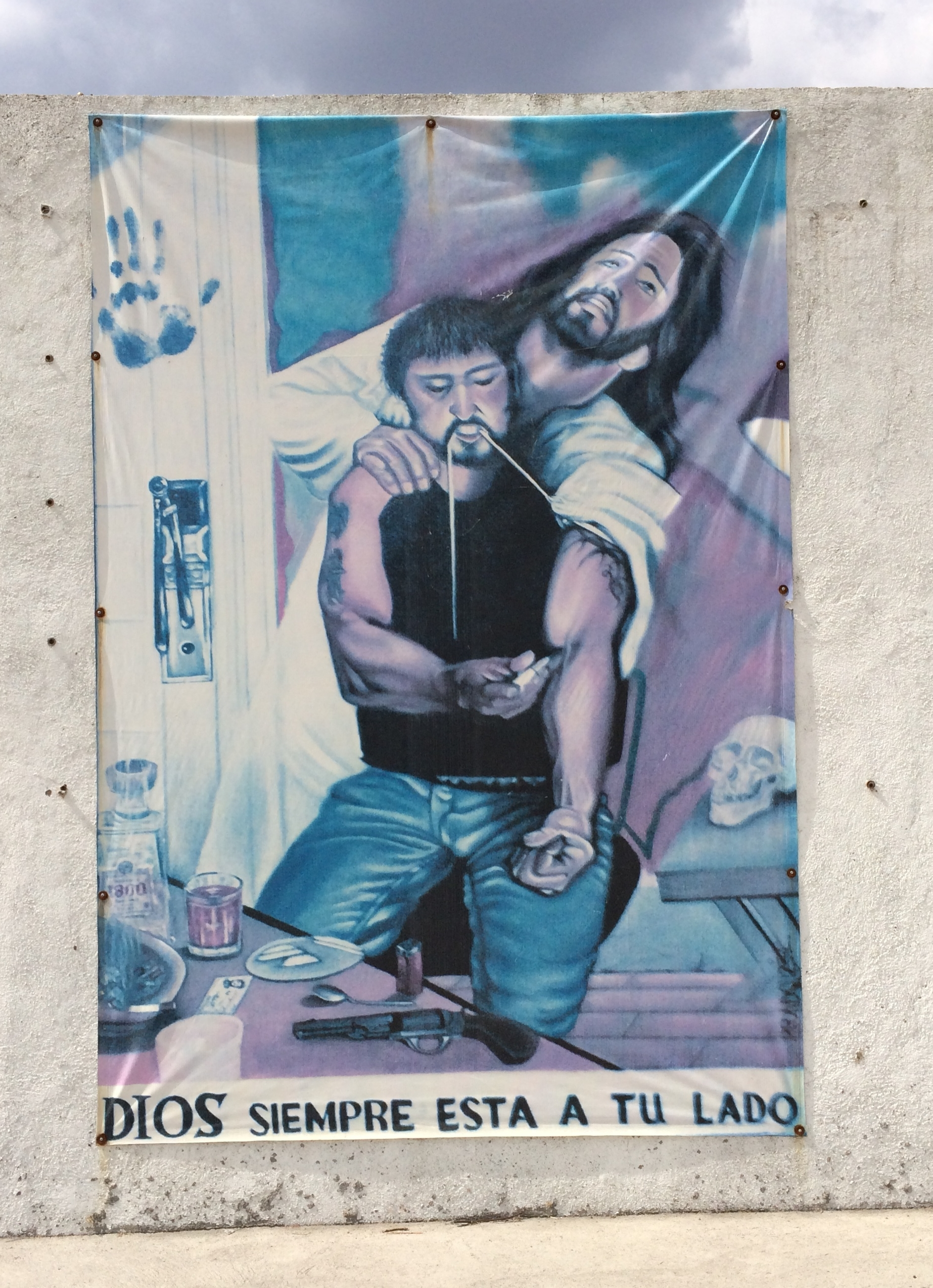 CALVARY banner found in Mexico