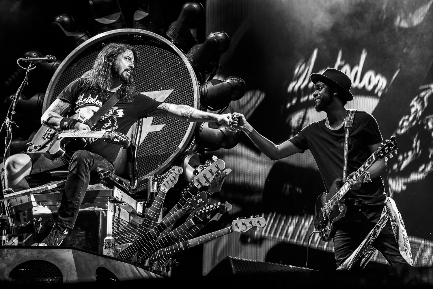 Dave Grohl & Gary Clark Jr.