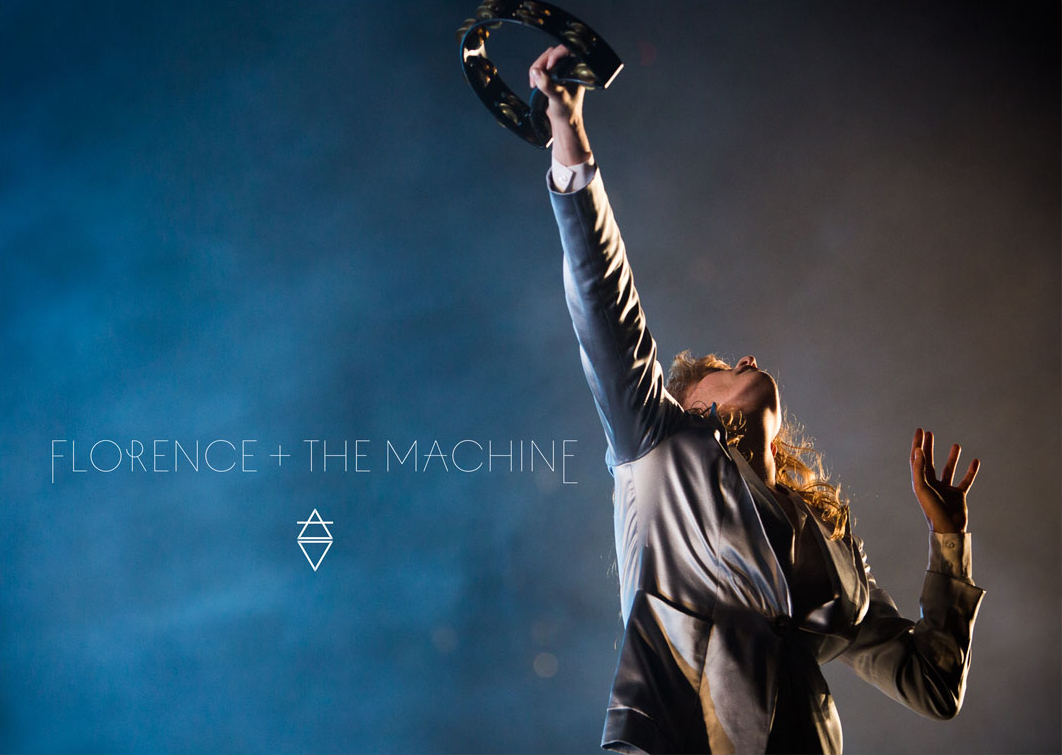 Florence + The Machine 2015 Tour Poster Imagery