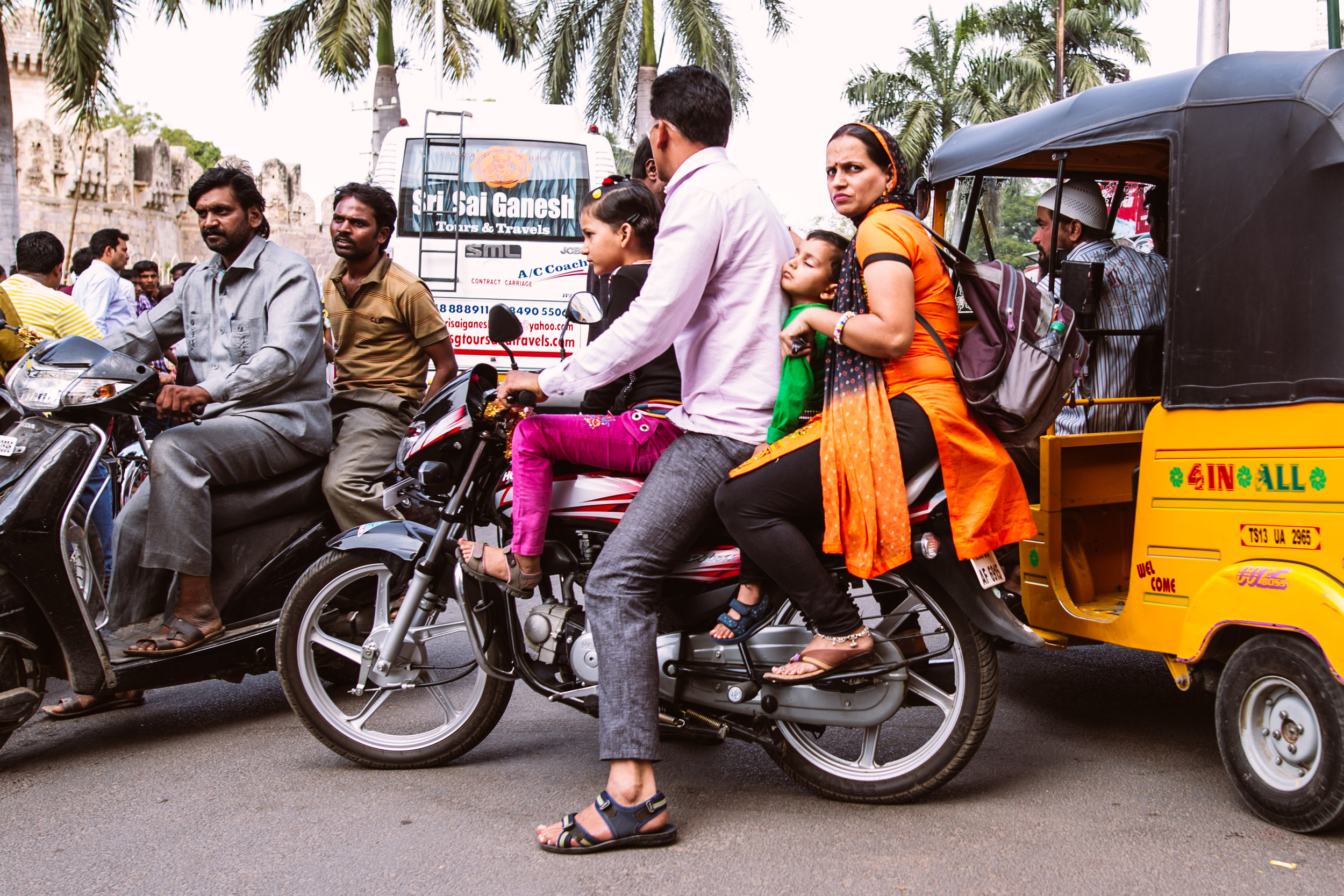 India with the Travel Channel's Andrew Zimmern