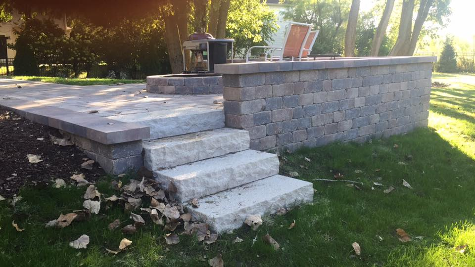 Patios, Walls, and Fire Pits