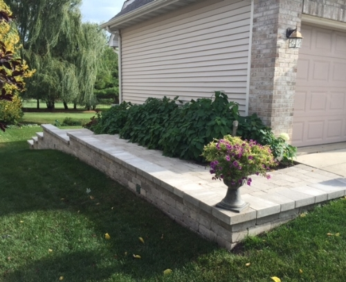 Paths, Retaining Walls and Natural Stone Steps