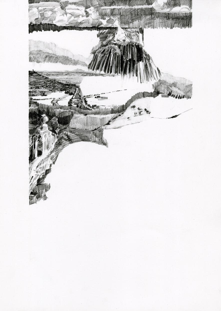 2006 — graphite in sketchbook — Castiglione Fiorentino, Italy