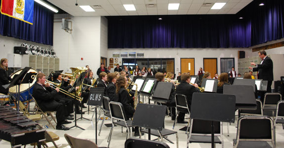 Potterville at the Band Festival