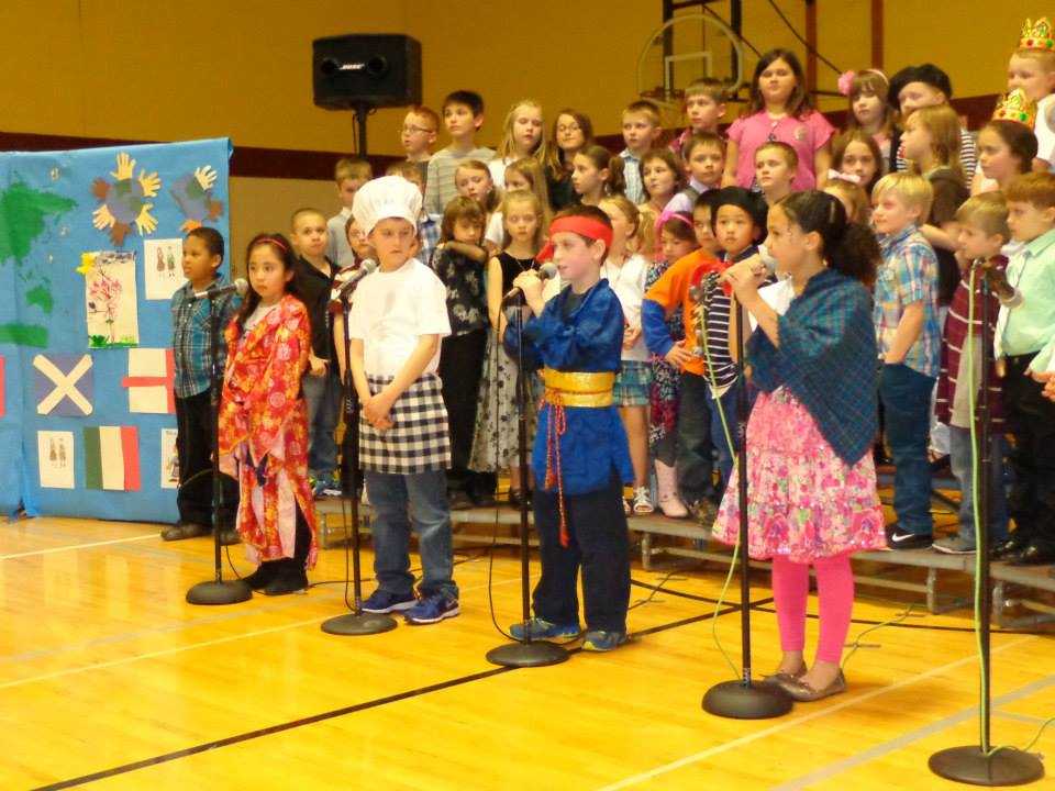 Potterville Elementary performance