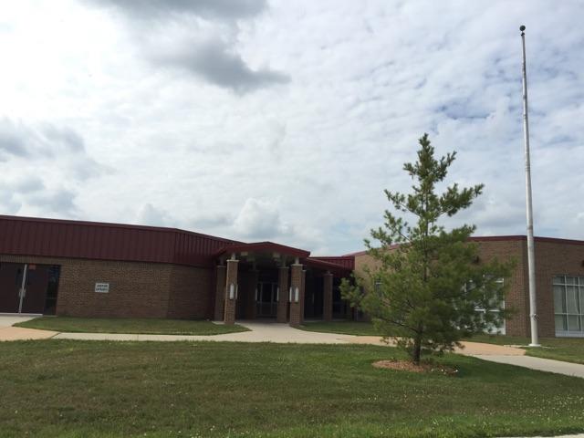 Potterville Elementary entrance