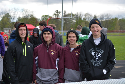 Potterville students at an athletic event