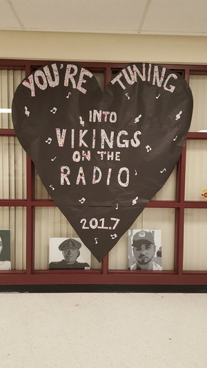 Potterville Viking Radio banner