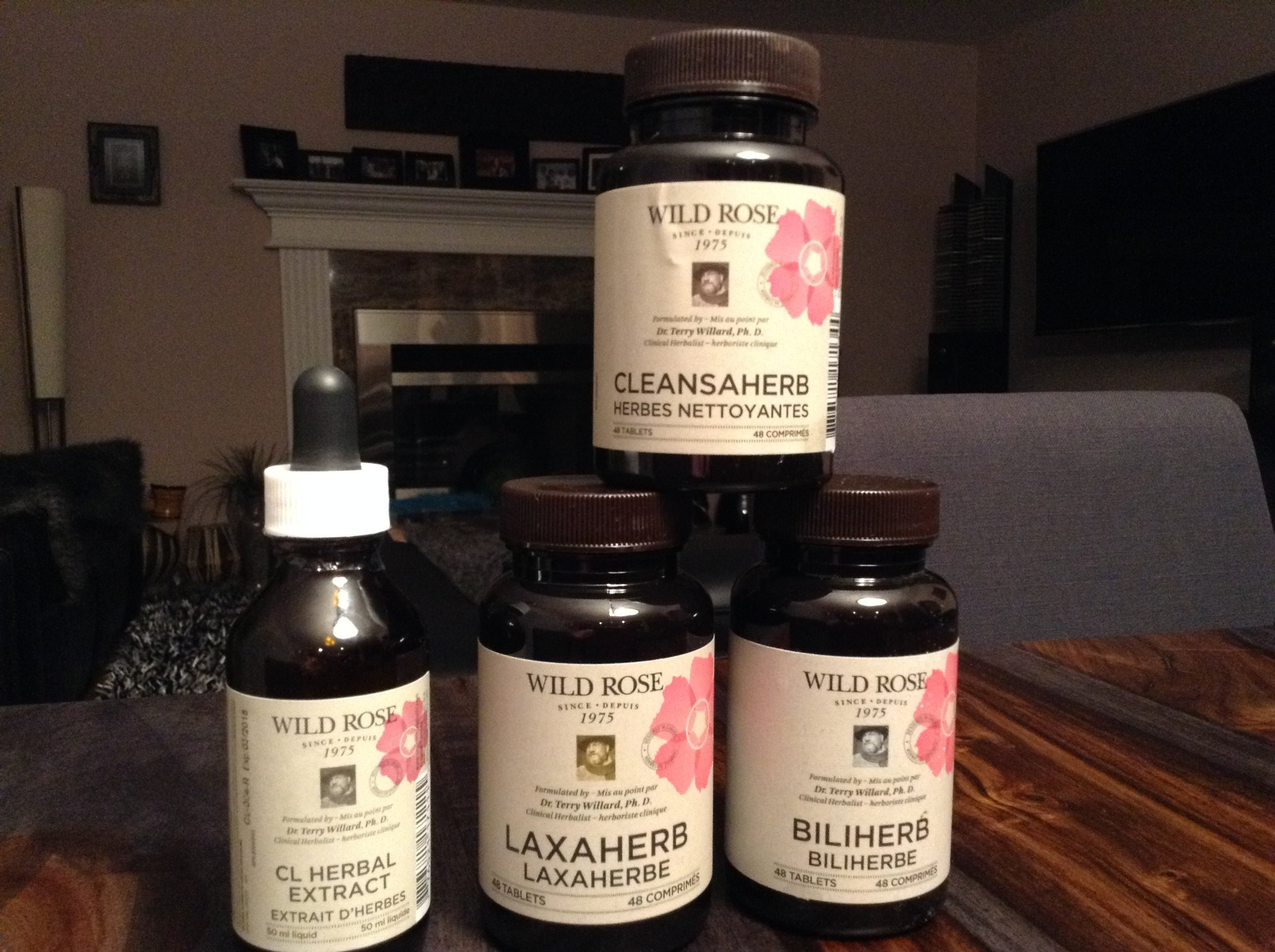 wild rose herbal d-tox supplements