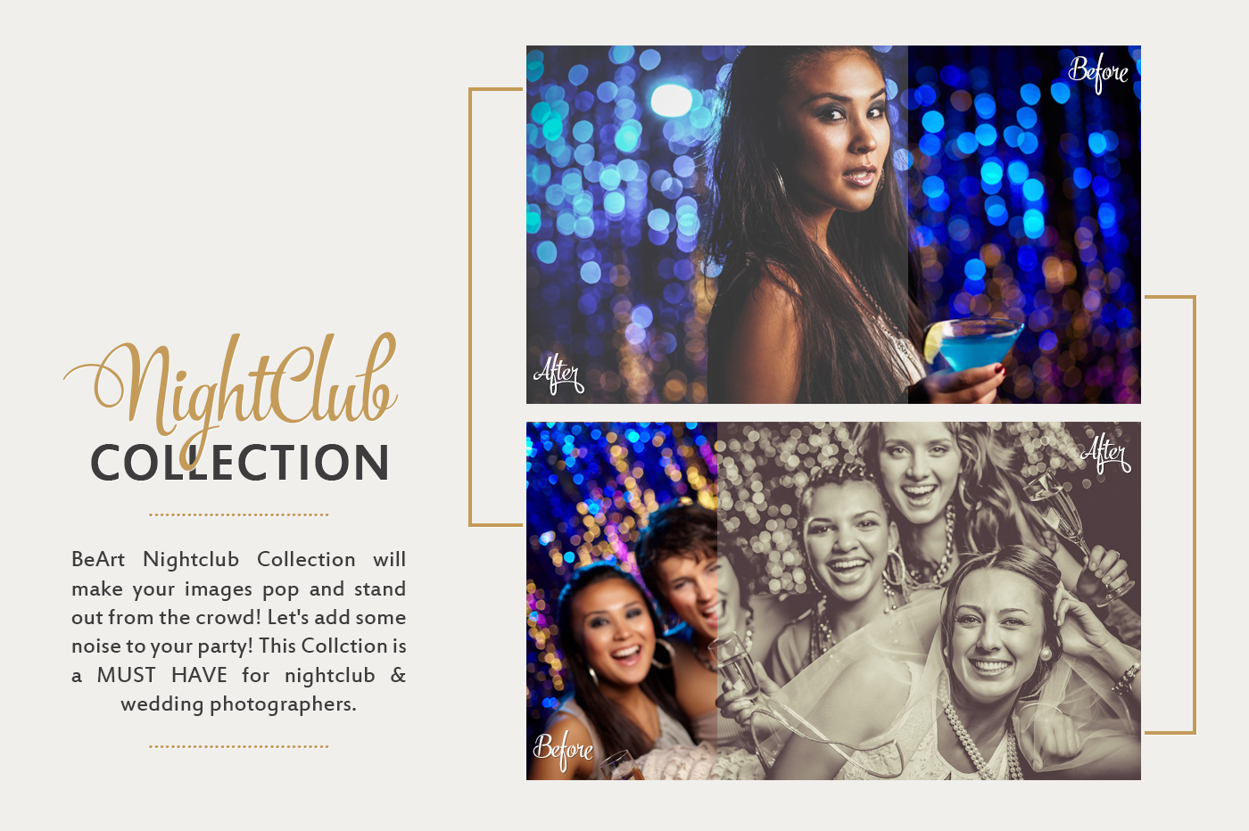 The Best Nightclub and Event photography Lightroom Presets